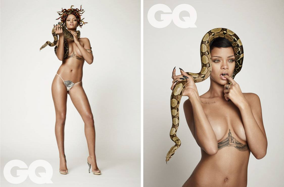 Rihanna x Damien Hirst x Mariano Vivanco